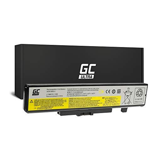 GC® Ultra Serie Laptop Akku für Lenovo G700 80AG G710 20252 80AH IdeaPad N580 20182 3092 (Original Panasonic Zellen 6800mAh 11.1V Schwarz)