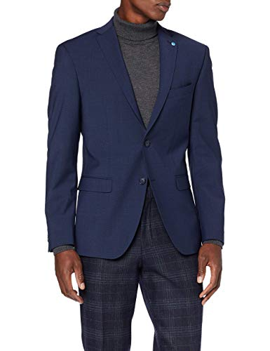 Pierre Cardin Casaco Fato Regular Liso Azul 48 A24161122