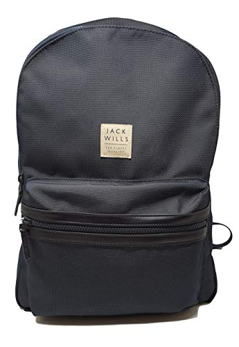 Jack Wills Rucksack Thurso Square Jack Wills Logo Navy