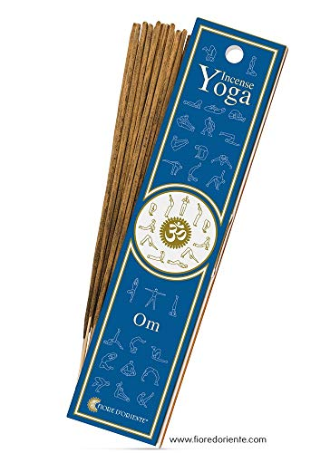 Om Yoga Incense 10 Sticks Fiore D'Oriente - 100% Natural Products -