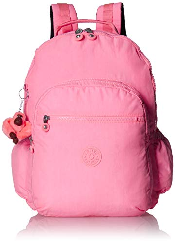 Kipling womens Seoul Go XL Laptop Backpack, Padded, adjustable Backpack Straps, Zip Closure, conversation heart tonal, One Size