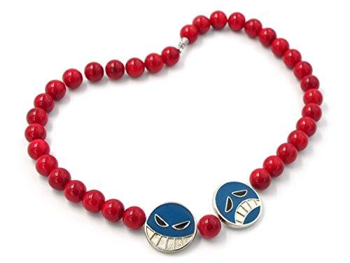 CoolChange Cadena de Perlas para el Sombrero de Puma D. Ace, Que se Puede Usar como Collar
