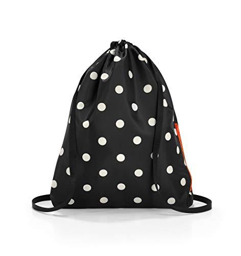Reisenthel mini maxi sacpack mixed dots Sacca 43 centimeters 15 Nero (Mixed Dots)