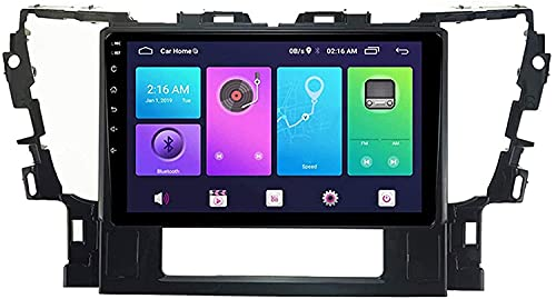 MIVPD Compatible para Toyota Land 2015-2020 Android Sat Nav FM Radio Receptor Doble DIN Auto Audio Player Coche Estéreo 10 Pulgadas Pantalla Táctil LCD Monitor GPS Navegación,4 Core WiFi 1+16GB
