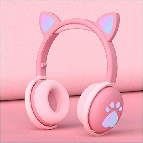 Headphones, Wireless Active Noise-Cancelling Stereo Headphones Foldable,Lightweight Headset Over-Ear with Hi-Fi,Built-In Mic, HD Driver,Protein Leather Earpads - Low Latency Professional Headphones fo