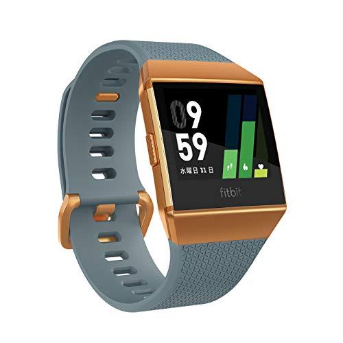 [GPS搭載]Fitbit Ionic スマートウォッチ Slate Blue/Burnt Orange L/Sサイズ [日本正規品] FB503CPBU-CJK