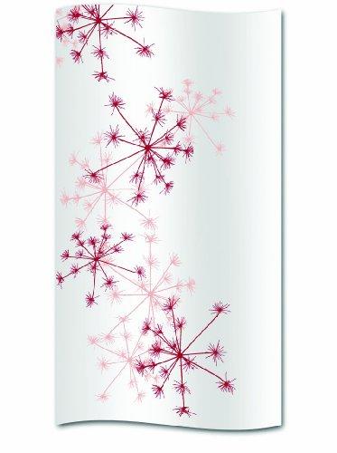 Kela Duschvorhang Snowflake Polyester 180 x 200 cm