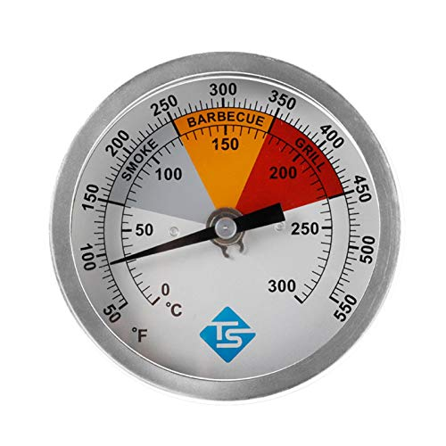 miss-an Ofenthermometer, Grillthermometer 500 Grad - Edelstahl Thermometer Analog, 50-550 ° F Weitbereichs-kochthermometer Analog