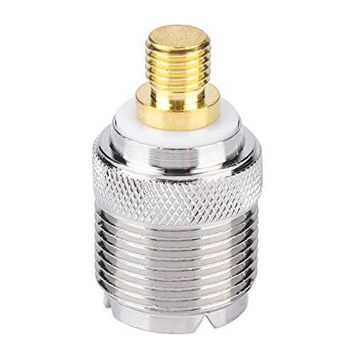 Mxzzand Conector coaxial de Alta sensibilidad portátil Adaptador de Antena Resistente al Desgaste A Prueba de Herrumbre para Radio bidireccional para Walkie Talkie