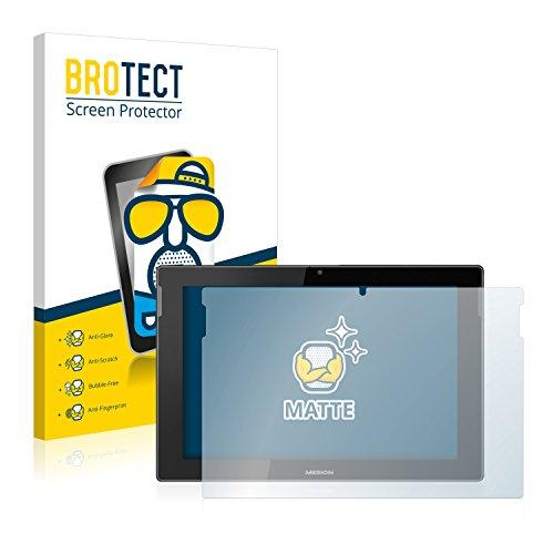 BROTECT 2X Entspiegelungs-Schutzfolie kompatibel mit Medion Lifetab S10366 (MD 99781) Displayschutz-Folie Matt, Anti-Reflex, Anti-Fingerprint