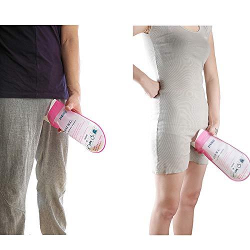 GHFPCASE für 700 ml Outdoor Einweg Urinal Kulturbeutel Camping Männlich Weiblich Kinder Erwachsene Tragbare Notfall Pee Bag Laden