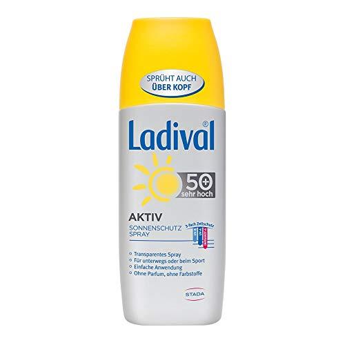 Ladival Aktiv LSF 50+ Sonnenschutz-Spray, 150 ml Lösung