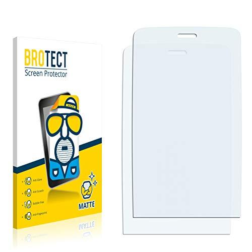 BROTECT 2X Entspiegelungs-Schutzfolie kompatibel mit Nokia Asha 308 Bildschirmschutz-Folie Matt, Anti-Reflex, Anti-Fingerprint