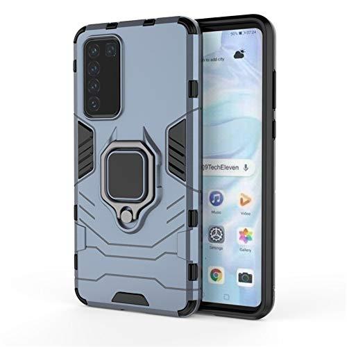 HHF Teléfono móvil Accesorios para Huawei P40 5G, Titular de la Caja magnética a Prueba de Golpes de la Cubierta del teléfono del Soporte para Huawei P40 5G