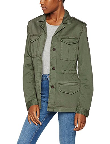 Replay Damen W7253C.000.80655G Jacke, Grün (Combat Green 835), 38 (Herstellergröße: M)
