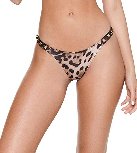 Despi Cheetah Brownie Rock N ROLL Bikini Bottom, S/P