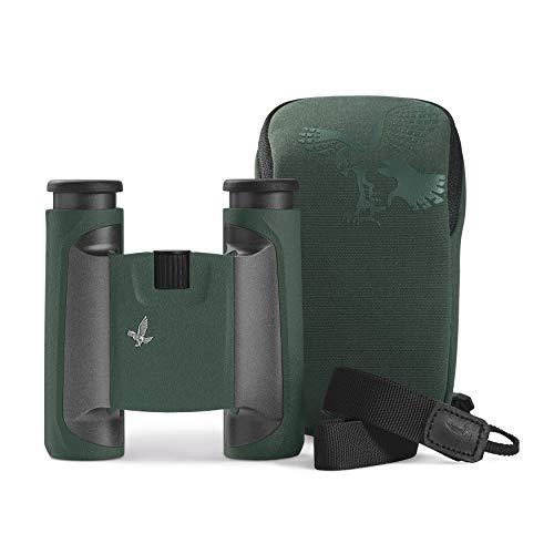 SWAROVSKI 10x25 CL Pocket Binoculars (Green, Wild Nature Field Bag)
