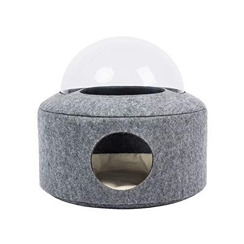 Bett für Katze Hund, Katze Kissen weich und komfortabel, waschbar, leicht zu tragen, warm zu halten, Korb Katze Geeignet für Katzen und Welpen