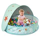 ZFAYFMA Piscina de remo portátil para niños, piscina plegable para niños con canotaje, adecuada para el jardín interior al aire libre M