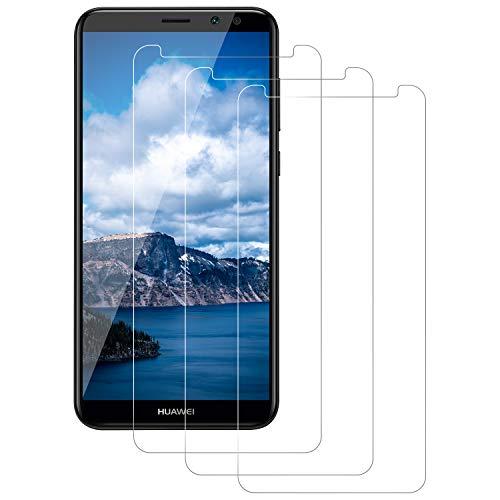 DASFOND Huawei Mate 10 Lite Pellicola Protettiva, [3-Pack] Pellicola Vetro Temperato Schermo Screen Protector con durezza 9H-Anti-Impronte e Anti-Bolle per Huawei Mate 10 Lite