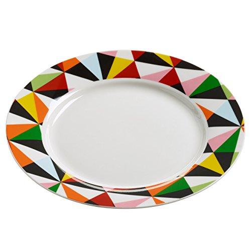 Maxwell & Williams rl0034 Assiette, Porcelaine, Multicolore, 11.4 x 35,6 x 55.2 cm
