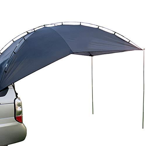 WJQ Auto-Zelt im Freien Selbstfahrer Tour Markise Auto Schwanz Konto Mobile Pergola Langlebig und bequem atmungsaktiv Wasserdicht Große Fläche Einfach zu unterbringen