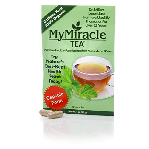 My Miracle Tea - Colon Cleanse, Constipation Relief, and All-Natural Detox Capsules