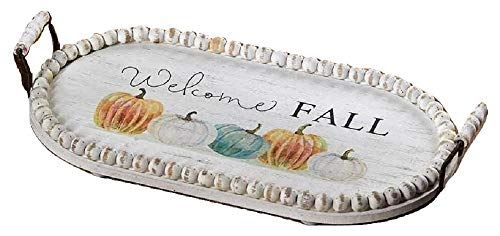 Harvest Tray - Welcome Fall - 2 Handles