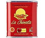 La Chinata Pimentón en polvo Select Sweet 70 g – Ahumado sobre fuegos de roble creando el inconfundible sabor ahumado picante.