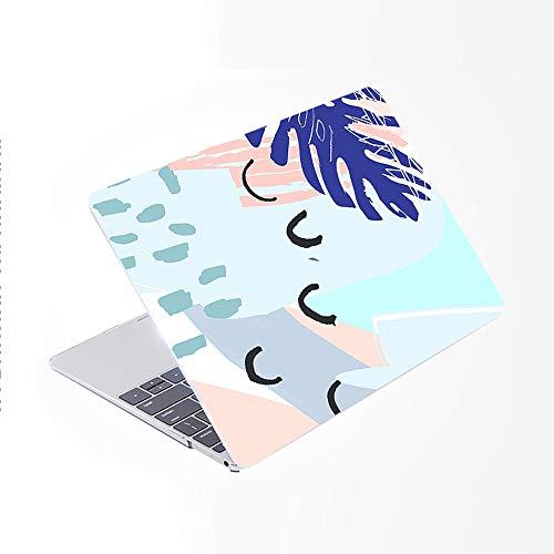 SDH Funda para MacBook Pro de 16 pulgadas 2019 lanzamiento A2141, ordenador portátil y cubierta de teclado para Mac Pro 16 pulgadas Retina Touch Bar e ID 4 en 1 paquete, plantas abstractas 12