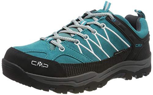 CMP Unisex-Erwachsene Rigel Low Trekking-& Wanderhalbschuhe, Türkis (Curacao-Antracite 08ld), 40 EU