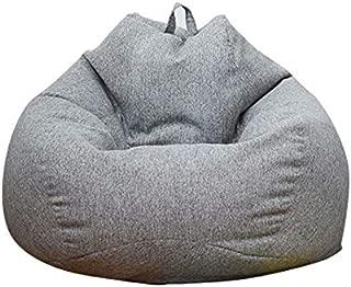 ビーズクッション 豆袋 ソファー なまけ者ソファー ソファ 座椅子 座布団 軽量 取り外し可能 洗える 腰痛 低反発 グレー 90*110CM