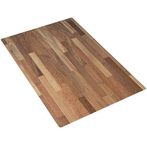Bessie Bakes Super-Thin & Pliable Butcher Block Replicated Photography Backdrop for Food & Product Photography 2ft Wide X 3ft High | Moisture Resistant Stain Resistant Lightweight