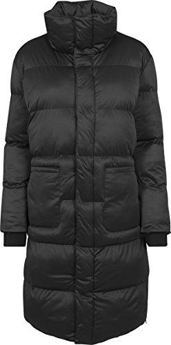 Urban Classics Damen Ladies Oversized Puffer Coat Mantel, Schwarz (Black 7), Medium