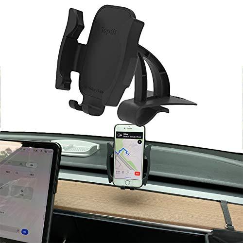 Tesla Model 3 Armaturenbrett-Handyhalterung, Auto-Armaturenbrett-Handyhalterung, Ständer für Modell 3 (schwarz)