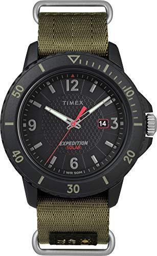 Timex Orologio Analogico Solare con Cinturino in Tessuto TW4B14500