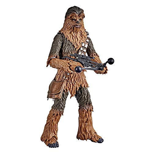 Star Wars The Black Series Chewbacca 6-Inch Scale The Empire Strikes Back 40th Anniversary Collectible Figure, Kids Ages 4 and Up