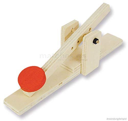 matches21 Einfaches Katapult Schleuder Holz Bausatz f. Kinder Werkset Kinder Bastelset ab 10 Jahren