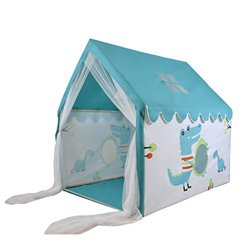 Tents Game House for Child's Bedroom, Baby's Room Shape, Children's Play Foldable Castle for Princess (Color : B, Size : 100 * 126 * 120CM)
