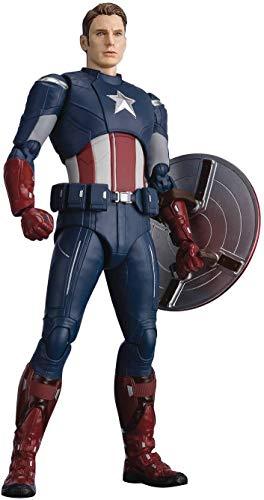 Bandai Tamashii Nations Avengers: Endgame S.H. Figuarts Action Figure Captain America cap VS. cap Editio