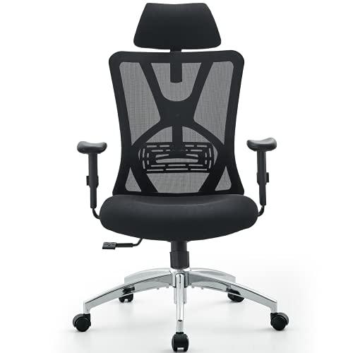 Ticova Ergonomic Office Chair - High Back Desk ...