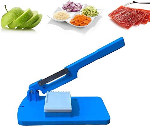 Cortadora de mesa multifuncional 2021, cortadora manual manual de frutas y verduras, cortadora de patatas, cortadora portátil de uso doméstico, adecuada para cortar alimentos cocidos, pan, jamón