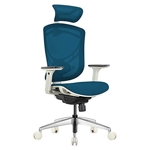 Chairs Sillas de Escritorio Computadora Ergonomica Columna Vertebral Jefe de Oficina Juego de Juegos Hogar Reclinable Actividad 3D Cintura Atras Ergonomia Real,Mi