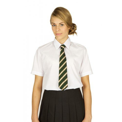 Direct Schoolwear S/S School Blouse White - Pack of 2 Blouses - Art no 7076 (44, White)