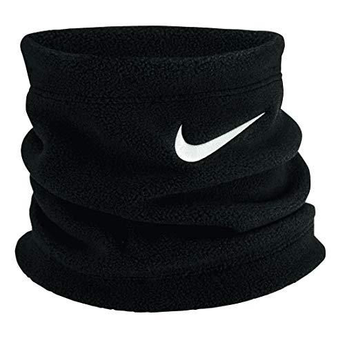 Nike Unisexe - Adulte Youth Fleece Chauffe-Nuque Noir/Blanc Taille Unique