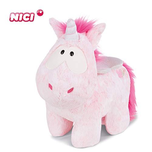 NICI Kuscheltier Einhorn Pink Harmony 32 cm – Einhorn Plüschtier für Jungen, Mädchen & Babys – Flauschiges Stofftier zum Kuscheln & Spielen – Flauschiges Schmusetier für jedes Alter geeignet – 44365