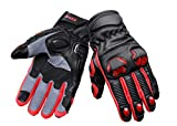 BIKING BROTHERHOOD Snell Iconic RED Gloves (L)