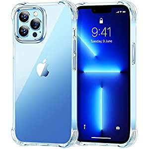 STOON Compatible with iPhone 13 Pro Case, Upgrade Shock-Absorbing Corners Clear Phone Case, Anti-Scratch and Non…