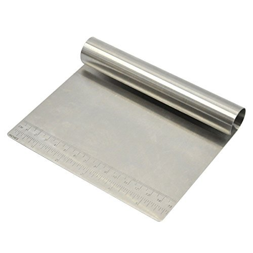 Bench Scraper Chopper Stainless Steel