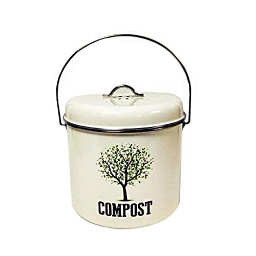 Best Prices! Household Kitchen Fertilizer Barrels Compost Bin for Kitchen Counter Compost Pail Deodo...